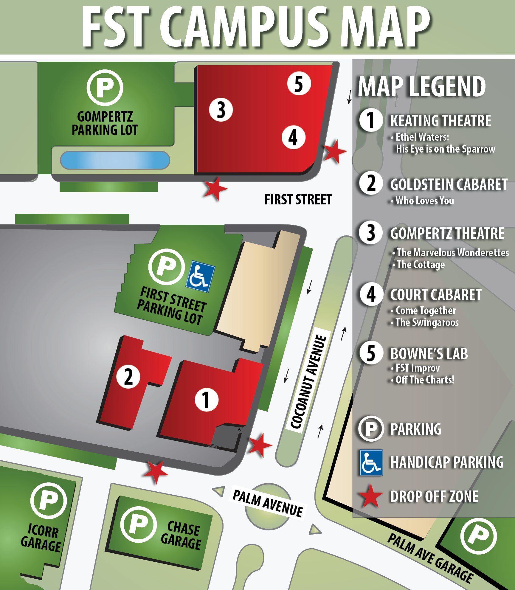 19 Parking Map
